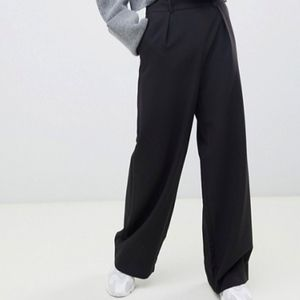 ASOS Wide Leg Pant with Pleat Detail